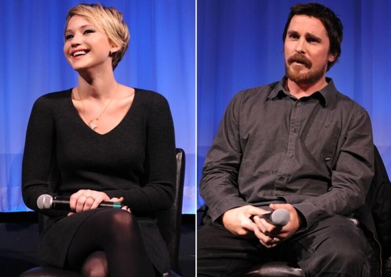 Con el mejor sentido del humor, Jennifer Lawrence hizo notoria su desilusión por el aumento de peso del actor para la película en la que comparten escenas.