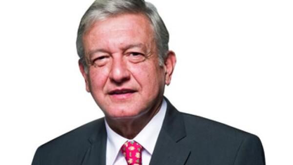 AMLO cambió su imagen en 2011 y venció a su contrincante Marcelo Ebrard, convirtiéndose así en el candidato único de su partido. (Foto: Alejandro Henández Olvera)