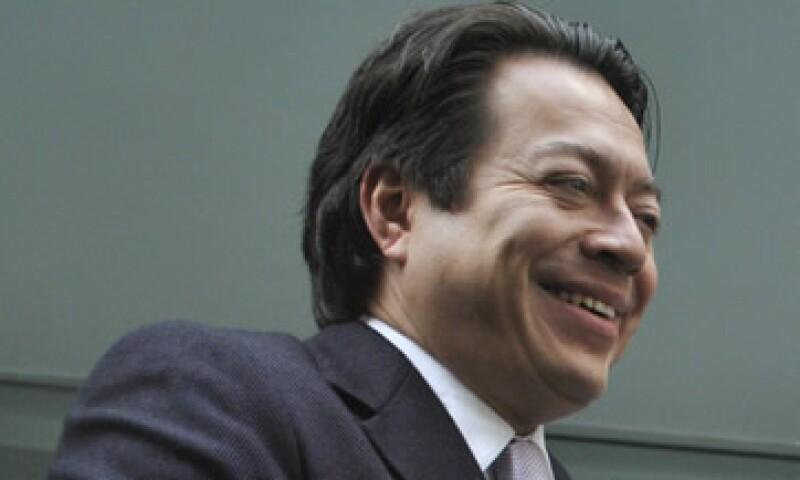 Mario Delgado fue secretario de Finanzas del Distrito Federal en la administración pasada. (Foto: Cuartoscuro)