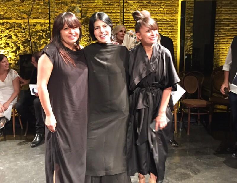 Como parte de Marcha en Fila, proyecto entre el dúo de diseñadoras y el Hotel Demetria, se presentó el desfile de la temporada otoño-invierno 2016.