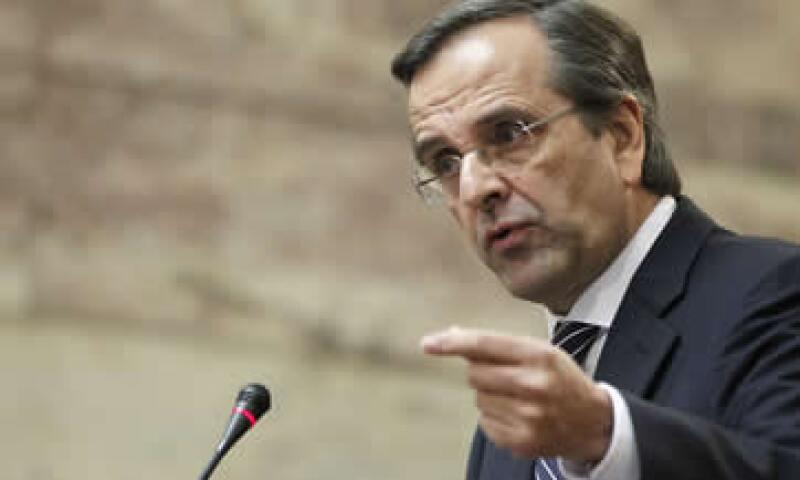 En la víspera, se había anunciado que faltaba la carta de Samaras. (Foto: AP)
