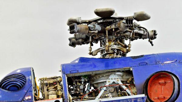 construcción de helicóptero