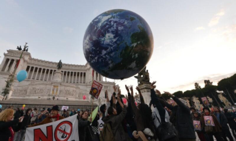 Las manifestaciones se dieron alrededor del mundo; Italia no se quedó atrás. (Foto: AFP)