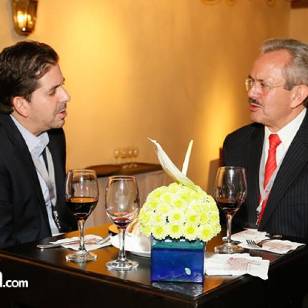 Rafael Toridio y Javier Lozano