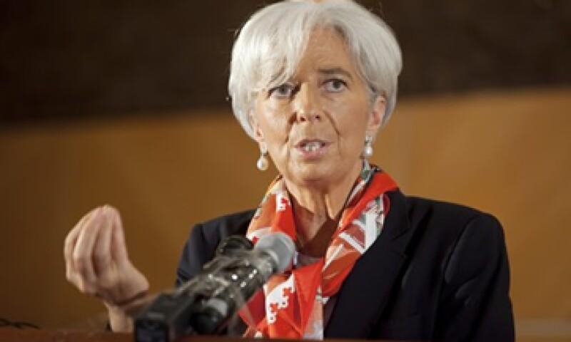 La jefa del FMI, Christine Lagarde, dijo que al directorio del organismo le preocupa el contagio de la crisis. (Foto: Reuters)