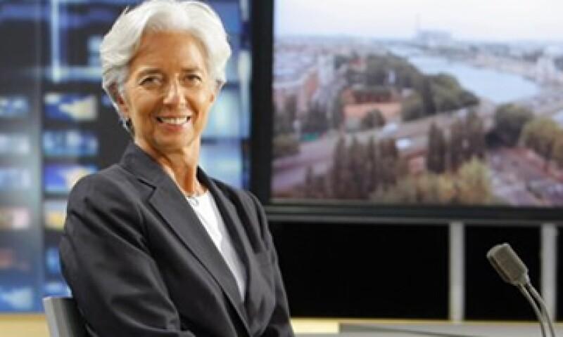 Chrsitine Lagarde es la primer mujer en dirigir el FMI y estará en el cargo durante los próximos 6 años. (Foto: AP)