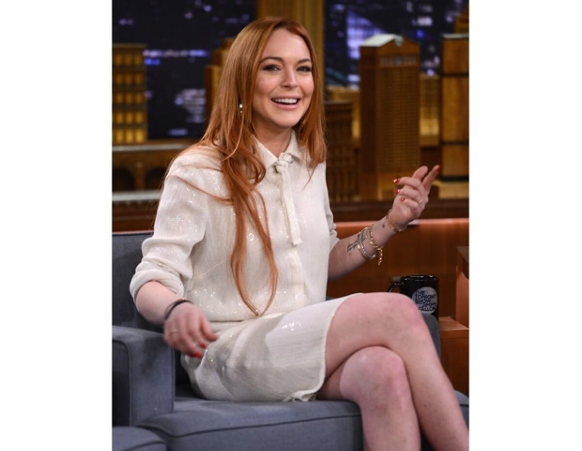 Publican lista de con quienes se ha acostado Lindsay Lohan