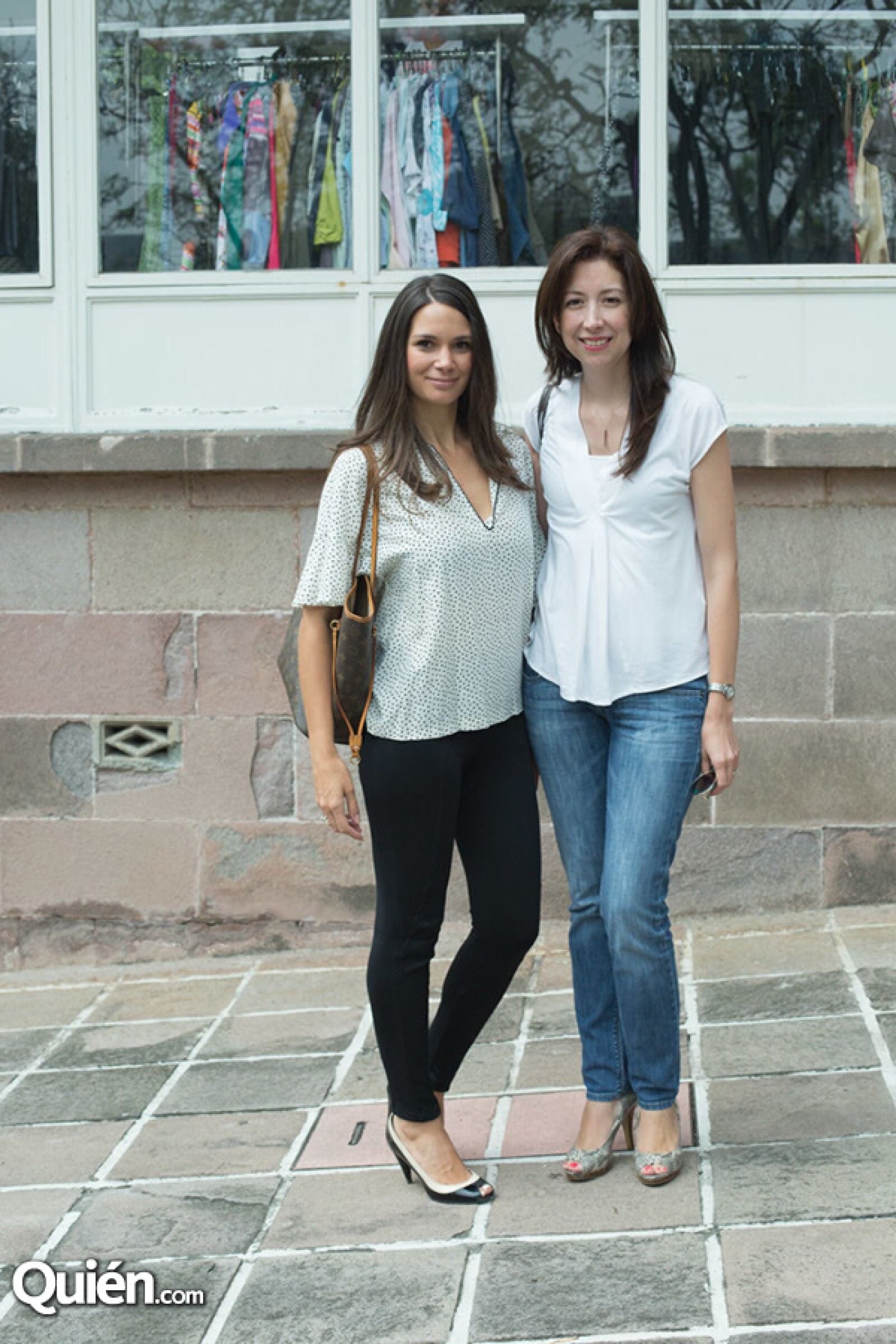 Agustina Vázquez y Silvia Carrillo