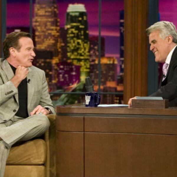 Uno de los clientes favoritos de Jay Leno fue Robin, con quien entabló una larga amistad.