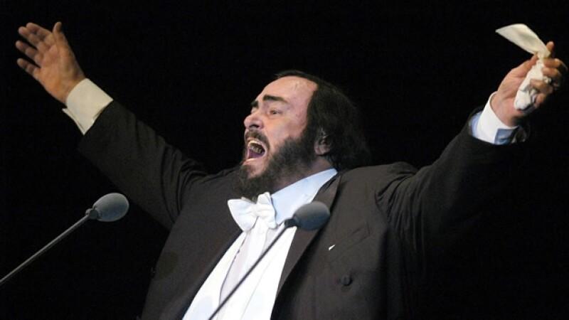 paravarotti en un concierto en panama