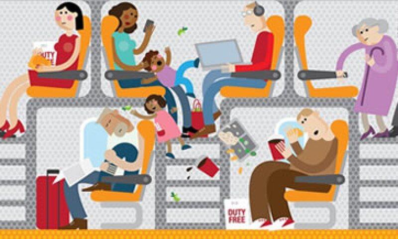 ¿Estos son los vuelos del futuro? (Foto: CNN)