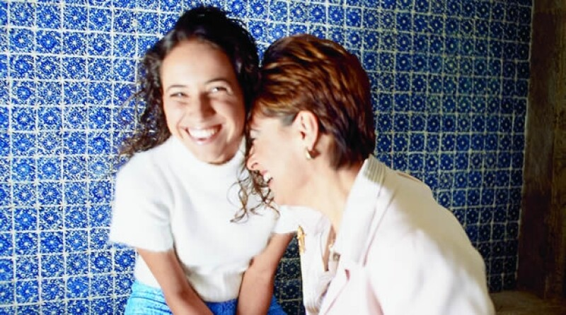 Ceci Salinas y su mamá, Cecilia Occelli.