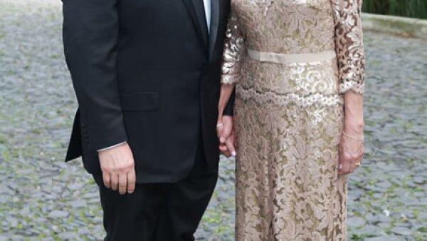 Francisco Castillo Villarruel y Alicia Cota de Castillo