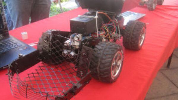 robot limpia playas