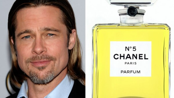 Se trata de Brad Pitt quién será la nueva imgen del perfume Chanel No. 5 y es el primer hombre que lo hace.
