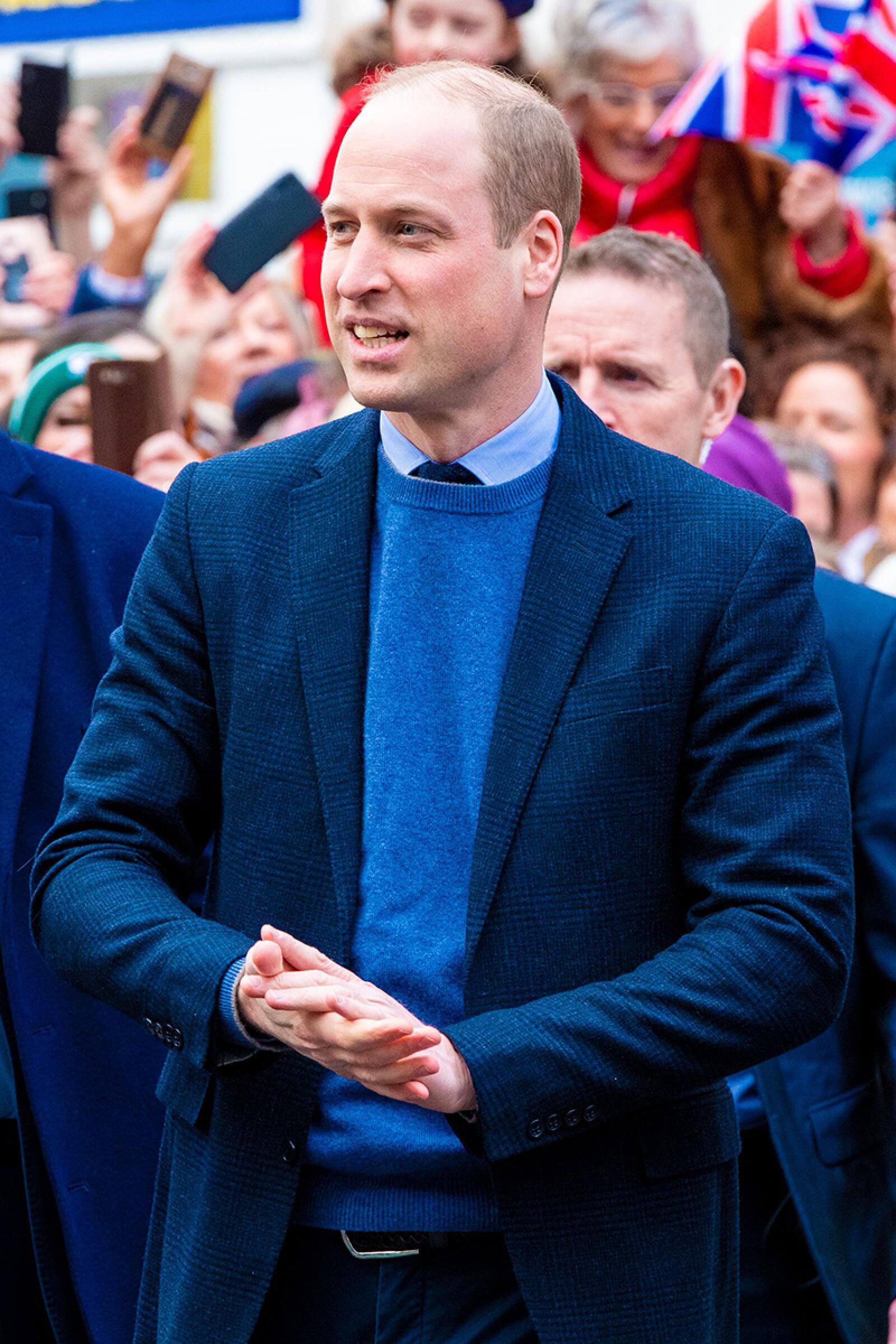 Prince William and Catherine Duchess of Cambridge visit to Ireland - 05 Mar 2020