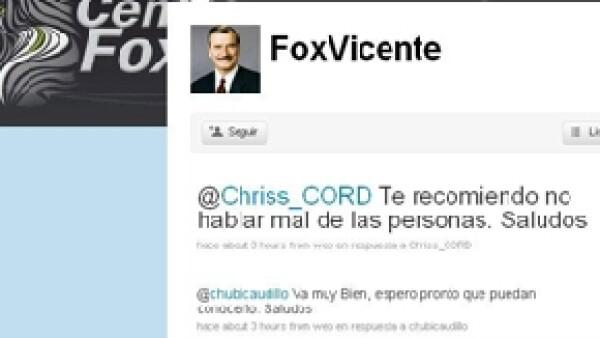 El ex presidente de México emitió un comunicado en el que afirma no haber creado ningún perfil de usuario en la red social y menciona algunas cuentas que son falsas.