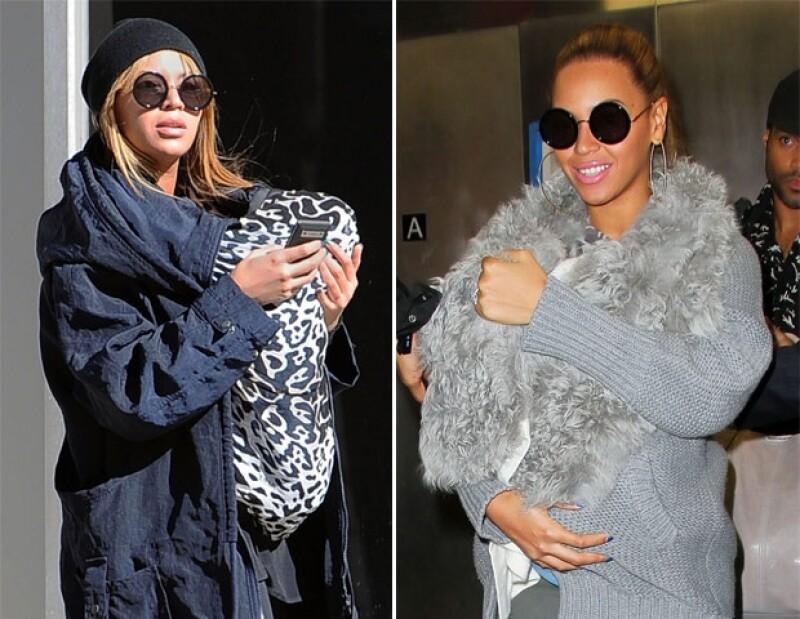 Beyonce es muy cuidadosa que ningún paparazzi capte a Blue Ivy.