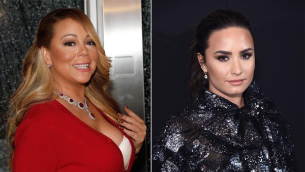 Mariah Carey y Demi Lovato