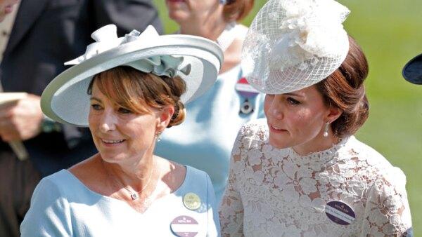 Kate y Carole Middleton