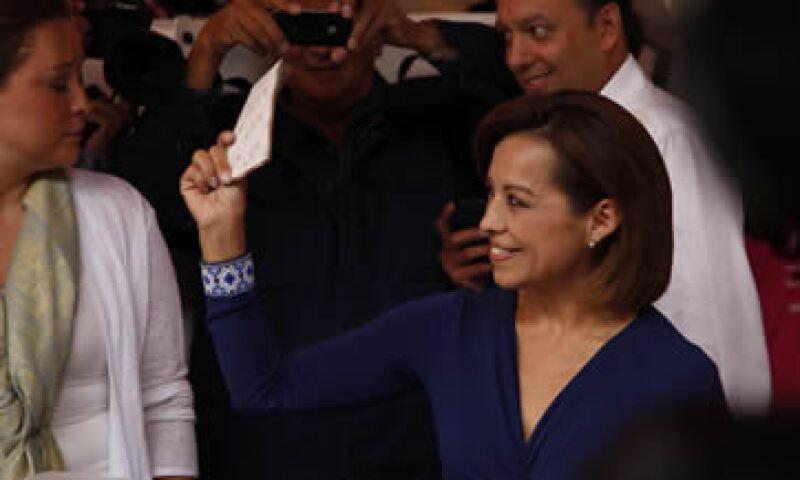 Josefina Vázquez Mota milita desde 1980 en el Partido Acción Nacional. (Foto: Jean Paul Bergarault)