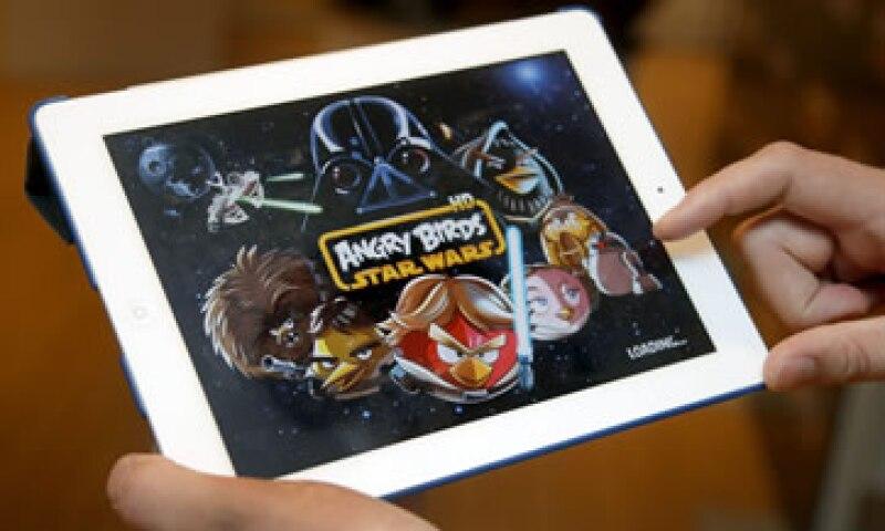 Las diferentes versiones de Angry Birds acumulan más de 1,700 millones de descargas desde que se comercializó por primera vez en 2009. (Foto: AP)