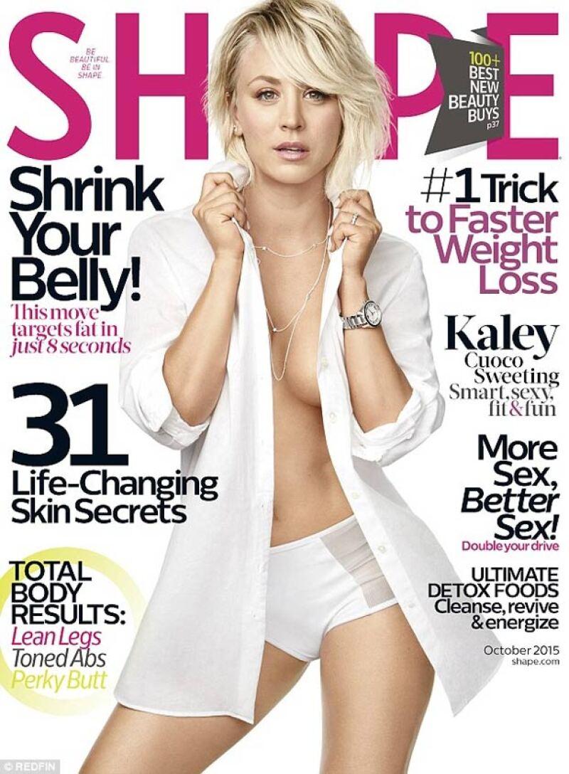 La actriz presume nuevo cuerpazo en la portada de una revista y revela qué deporte realizó para transformarse.