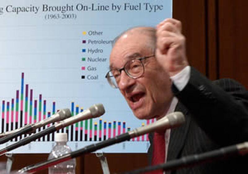 Alan Greenspan estuvo al frente de la Reserva Federal de EU durante 18 años. (Foto: Archivo AP)