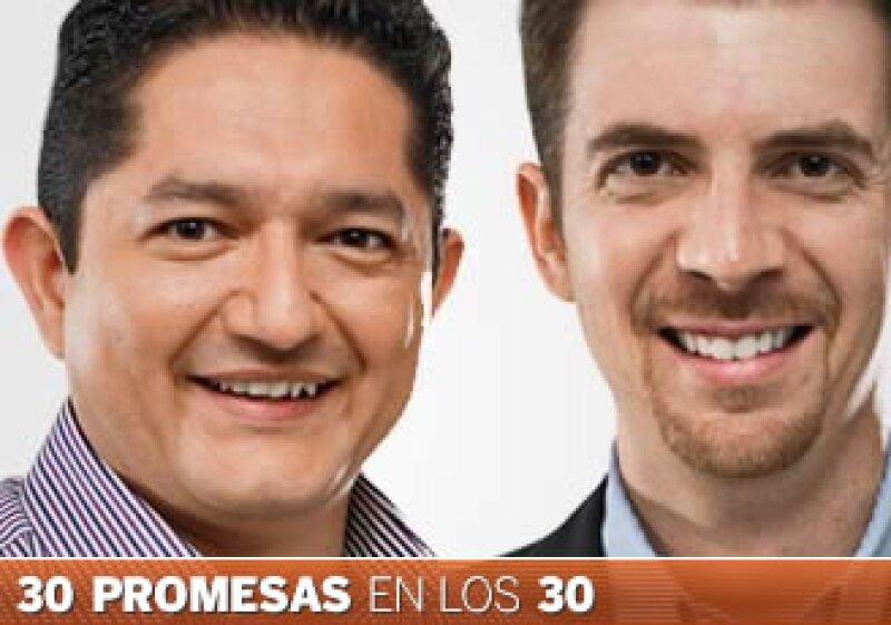 Las ideas que tuvieron Agustín Zambrano y Alejandro Migoya durante sus estudios los llevaron a pertenecer a las 30 promesas en los 30. (Foto: Especial)