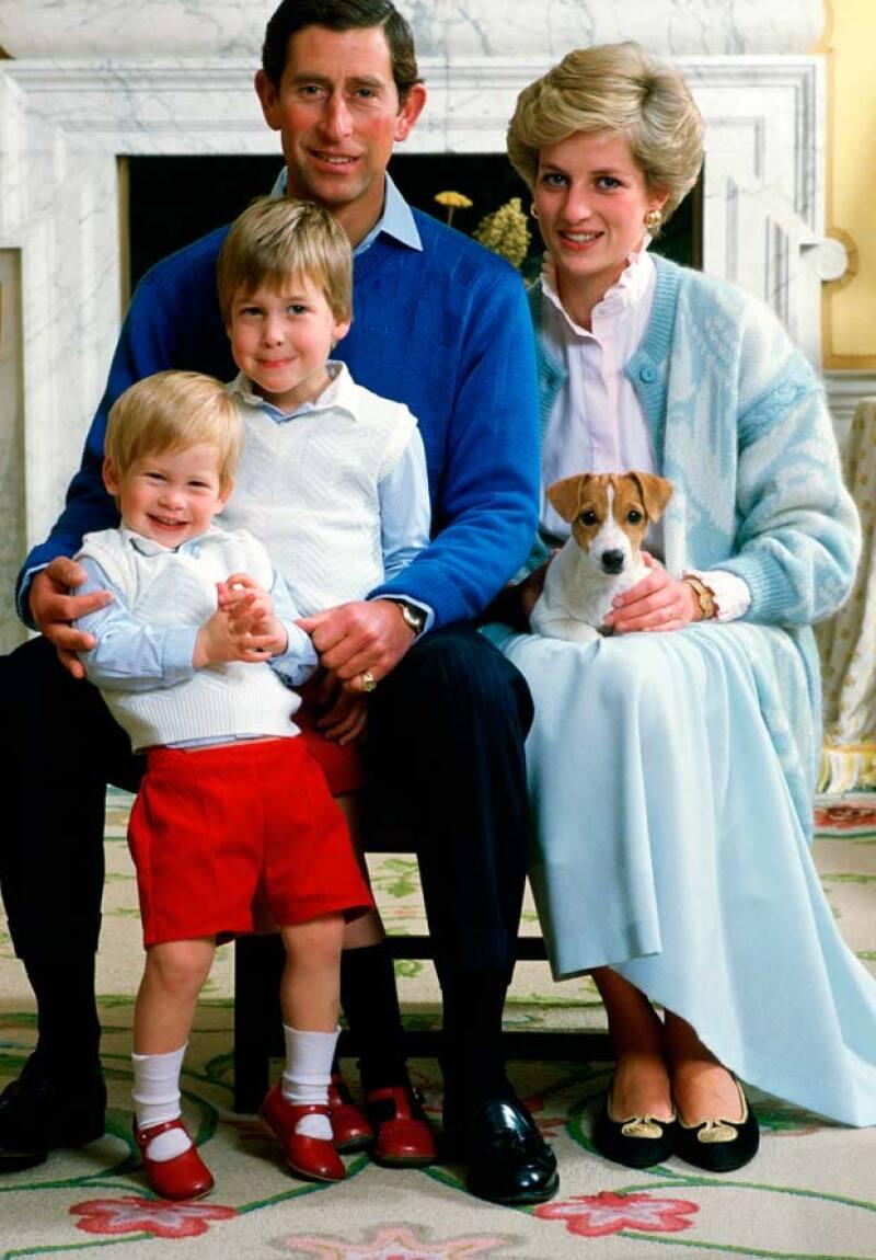 Diana tuvo dos hijos, William y Harry, de los dos, Will es el heredero al trono después de su padre, el príncipe Carlos.
