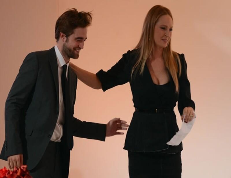Según la actriz, él se comportó como un caballero en todo momento.