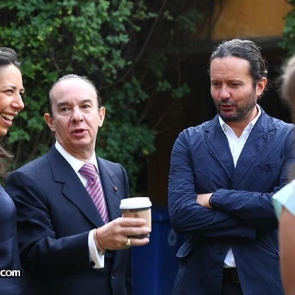 Laura Manzo,Francisco del Cueto y Eduardo Prieto