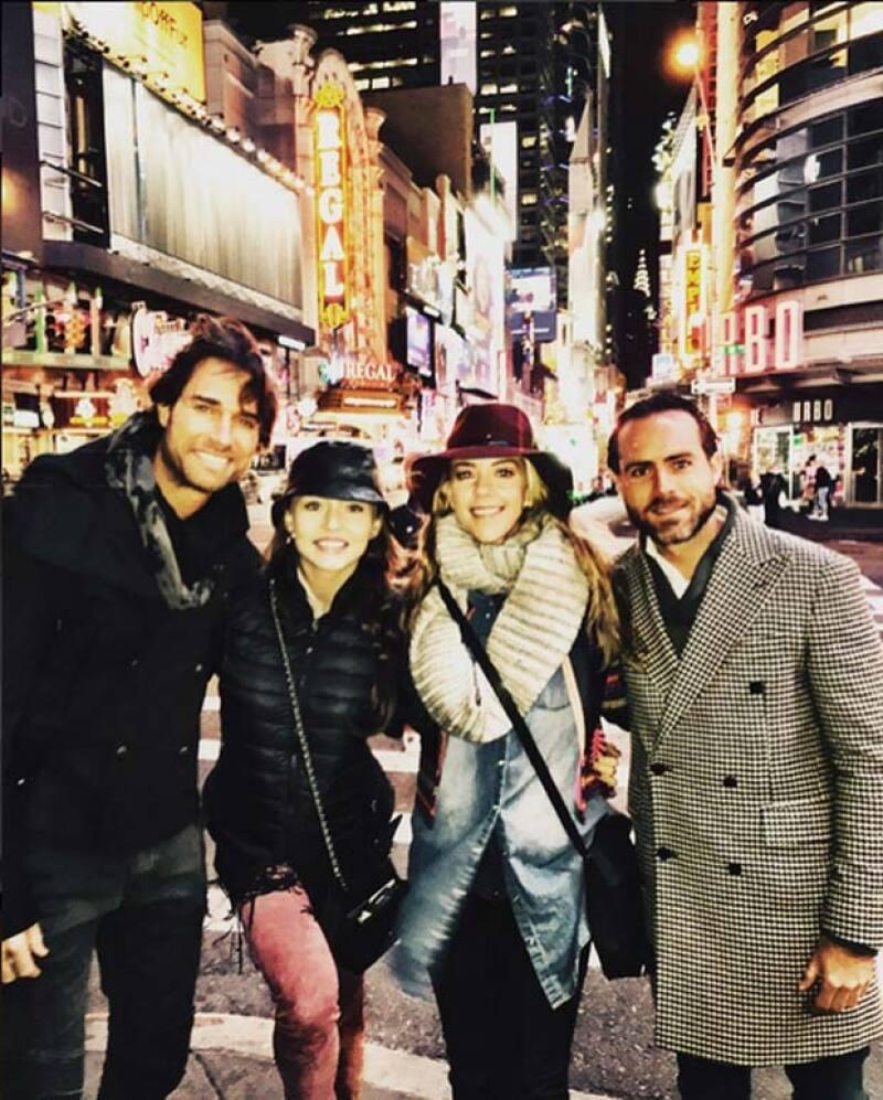 Desde hace unos días, la pareja arribó a Nueva York.