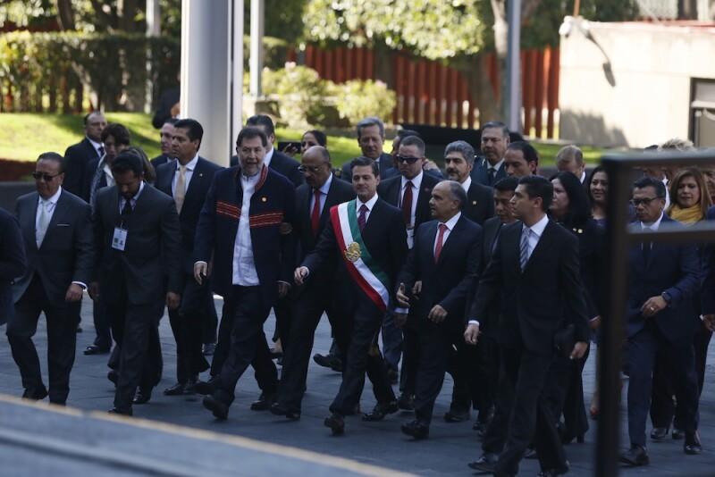 Peña Nieto en el Congreso
