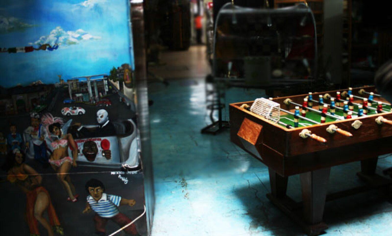Los juguetes de madera también formaron parte de la industria juguetera mexicana.