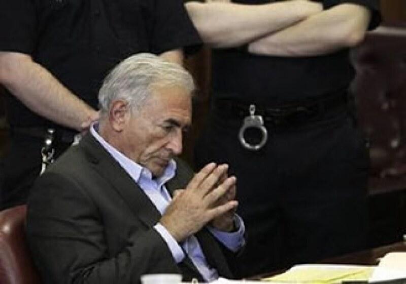El abogado del ex funcionario, Dominique Strauss-Khan, señaló que la evidencia encontrada no será consistente. (Foto: AP)