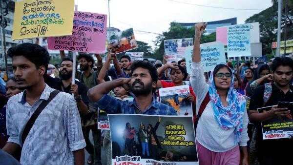 Protestas de estudiantes