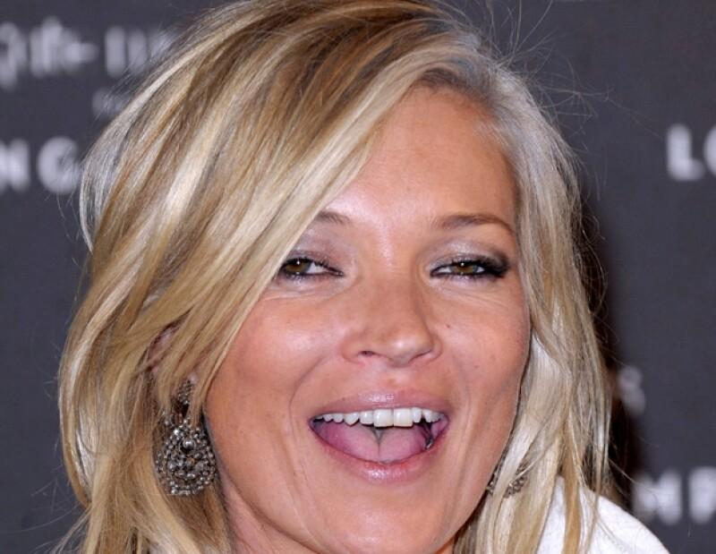Kate Moss también ha colaborado con firmas como Longchamp.