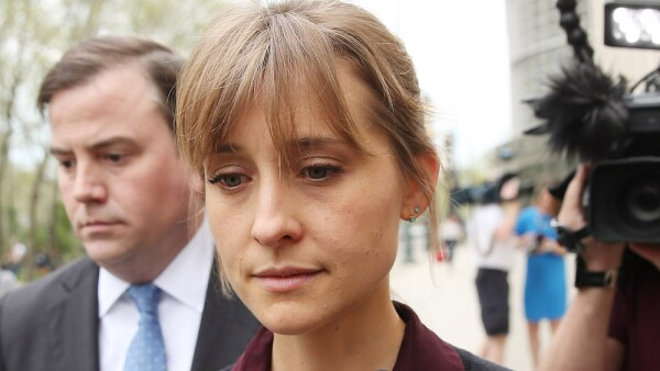 Actress Allison Mack Attends Court Over Sex Trafficking Charges