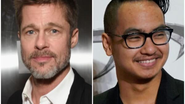 Brad Pitt y Maddox