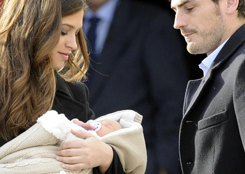 La comunicadora y el futbolista dieron la bienvenida hace unos días a su primogénito Martín.