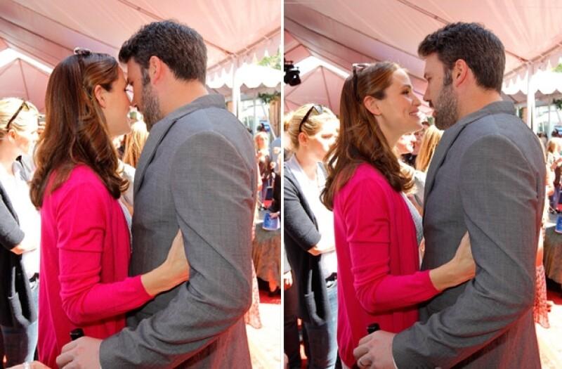 Los dos actores llevan 8 años de matrimonio.