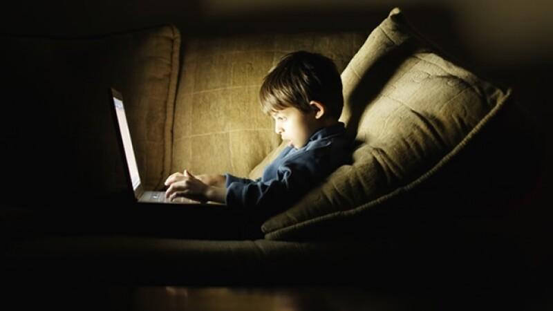 niños internet redes sociales