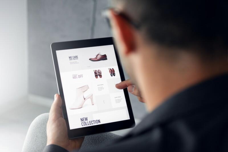 Online shop - Digital tablet