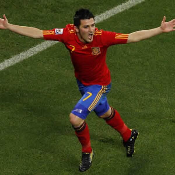 El delantero fichó por el Barcelona antes de comenzar el Mundial de Futbol en Sudáfrica por 40 mde.