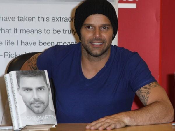Ricky Martin se ha liberado con la publicación de su libro autobiográfico.