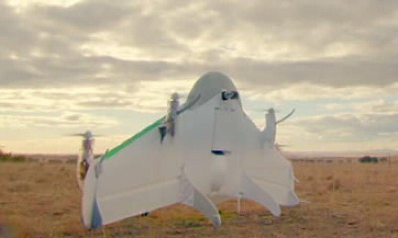 En las pruebas, los drones llevaban golosinas, agua y medicinas. (Foto: Especial)