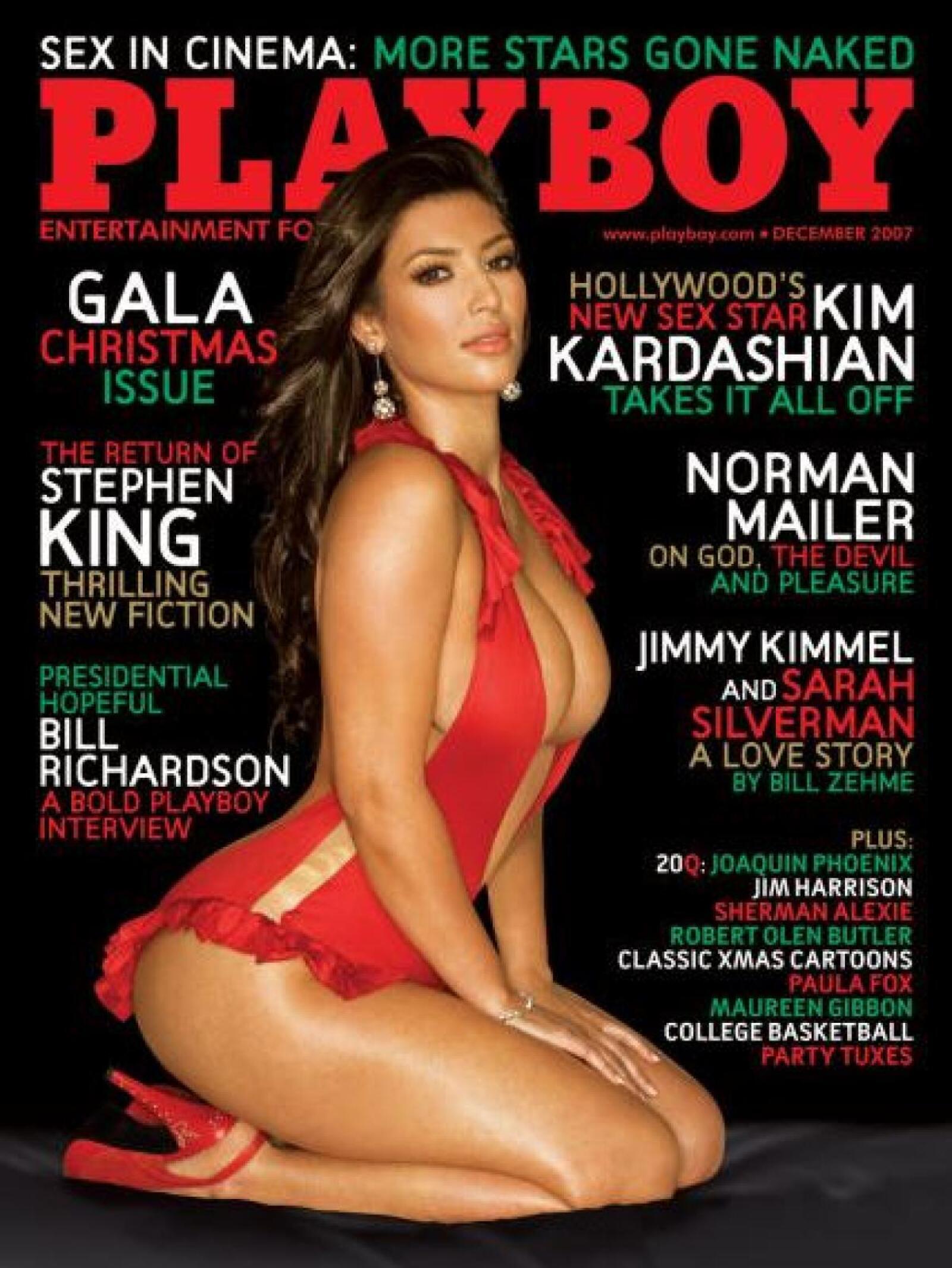 Famosas que posaron para Playboy