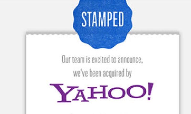 Los nueve empleados de Stamped planean unirse a Yahoo y serán destinados al equipo de ingeniería y producto en Nueva York. (Foto: Tomada del sitio Stamped.com)