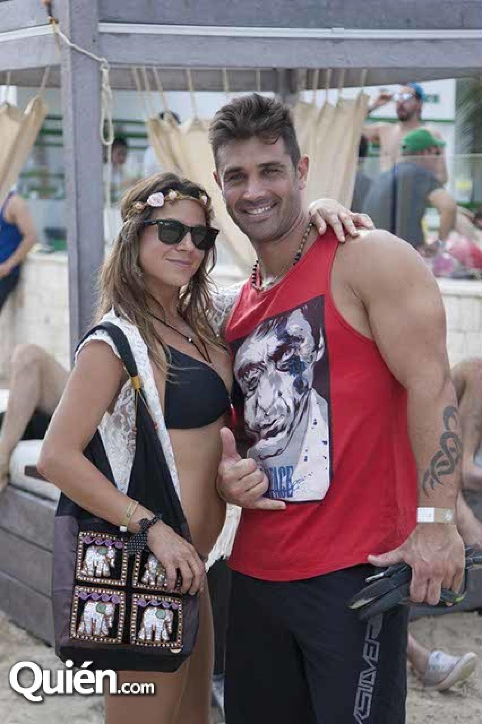 Pilar Barato y Ezequiel Barato
